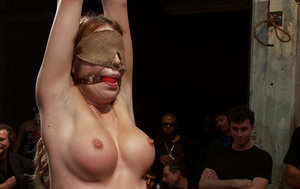 Tits Blindfolded Porn Pictures
