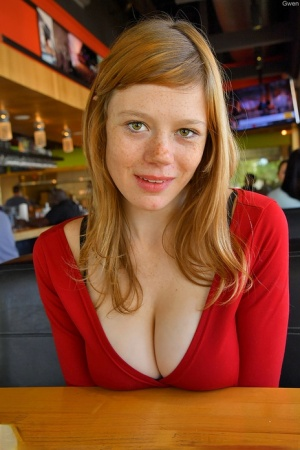 Redhead Tits Porn Pictures