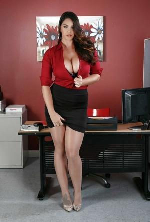 Secretary Tits Porn Pictures